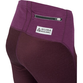 """Aclima W's WoolShell Pants Grape Wine"""